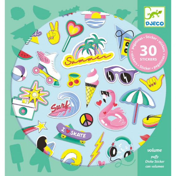 Stickers en volume 'California' DJECO 9262
