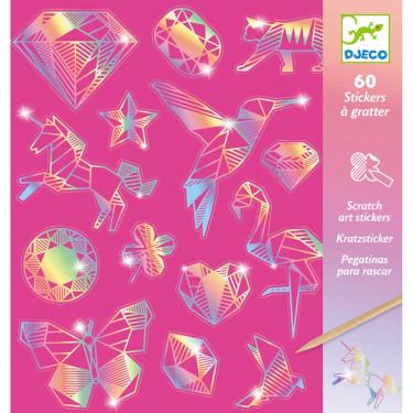 Stickers à gratter 'Diamond' DJECO 9736