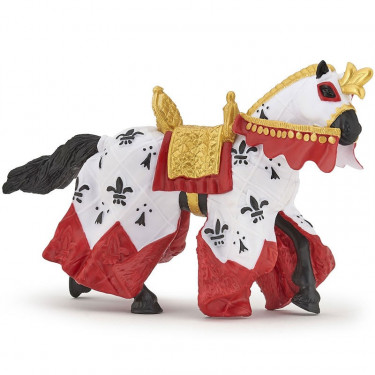 Cheval du roi Arthur, figurine PAPO 39951