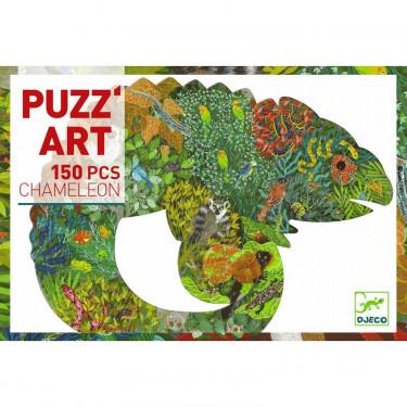 Puzzle Caméléon 150 pcs DJECO 7655