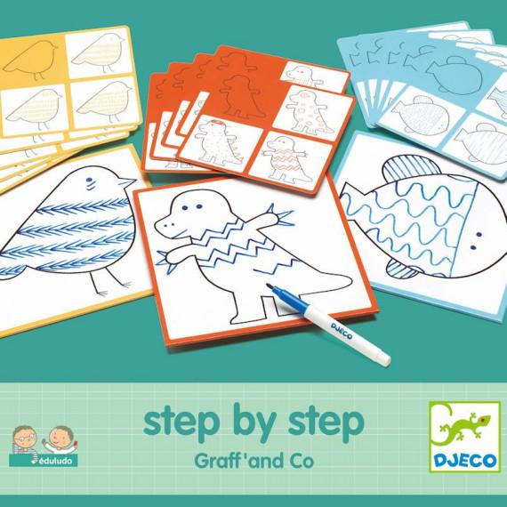 """STEP by STEP """"Graff' & Co"""" DJECO 8324"""