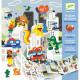 Histoires de stickers 'L'invasion des monstres' DJECO 8955