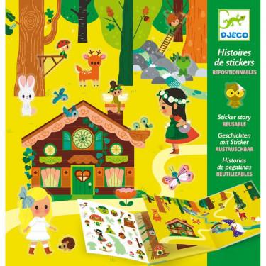 Histoires de stickers 'La forêt magique' DJECO 8956