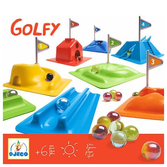 Golfy parcours de billes DJECO 2001