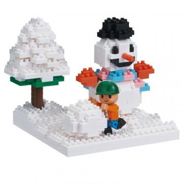 Jeux de neige Nanoblock