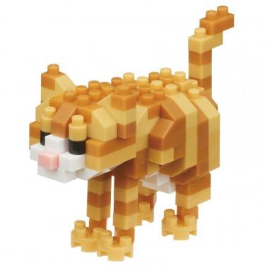 Chat tigré nanoblock