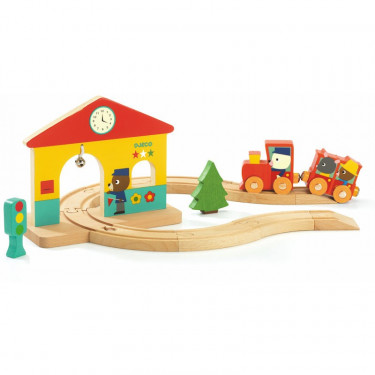 Mini train DJECO 6389