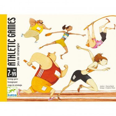 Athletic games, jeu de cartes DJECO 5172
