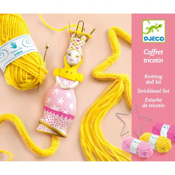 "Coffret tricotin ""Princesse"" DJECO 9834"