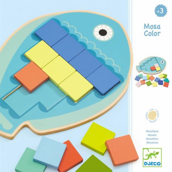 Mosa color, jeu de mosaïque DJECO 1665