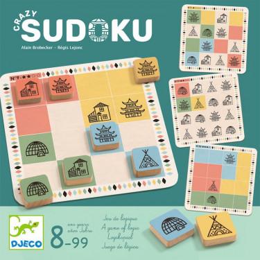 Crazy Sudoku, jeu de logique DJECO 8488