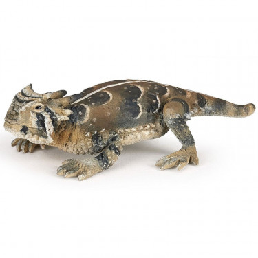 Lézard cornu, figurine PAPO 50247