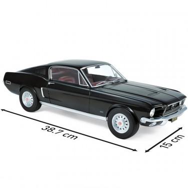 FORD Mustang fastback 1968 Norev 1-12ème