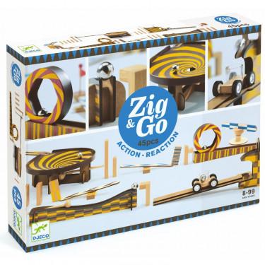 ZIG & GO - 45 pièces DJECO 5643