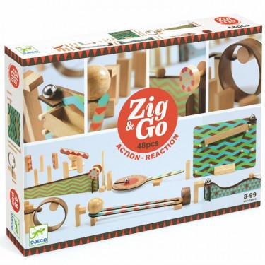 ZIG & GO - 48 pièces DJECO 5644