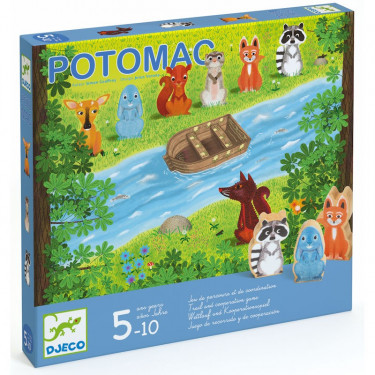 Potomac, jeu de parcours et de coopération DJECO 8407