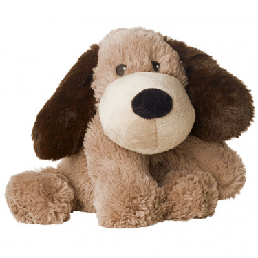 Peluche bouillotte Chien marron Warmies Cozy