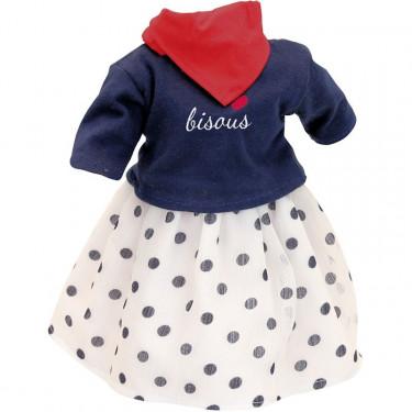 Vêtement de poupée Petitcollin 40 cm 'Montmartre'