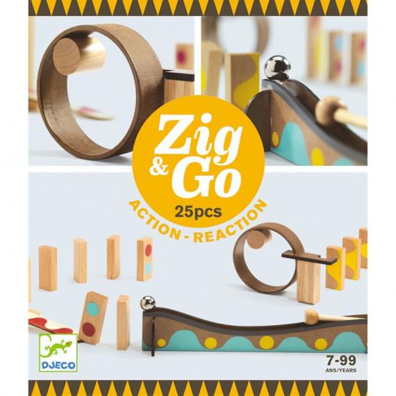 ZIG & GO - 25 pièces DJECO 5642