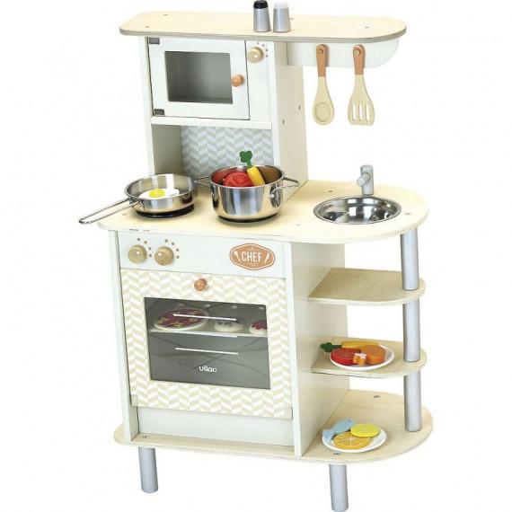 Cuisine Du Chef Jouet En Bois Vilac 8110 Jouet Vilac Cuisine
