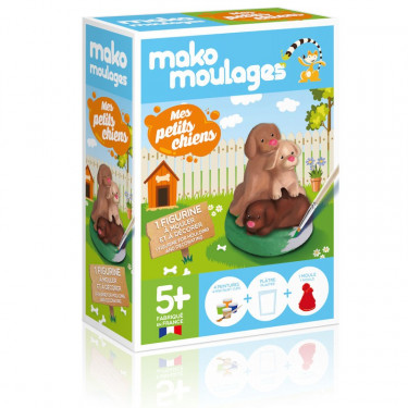 Mako Moulages 'Mes petits chiens' 39046