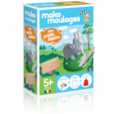 Mako Moulages 'Mes petits lapins' 39045