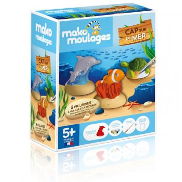 """Mako Moulages """"Cap sur la mer"""" étui 3 moules 39048"""