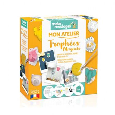 Trophées magnets, Mon atelier Mako Moulages 39055