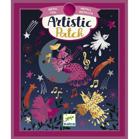 """Artistic Patch Métal """"Ritournelle"""" DJECO 9460"""