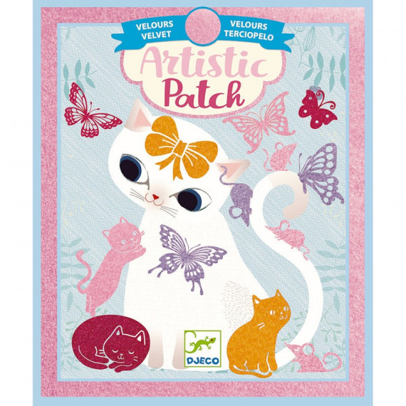 """Artistic Patch Velours """"Petits animaux"""" DJECO 9469"""