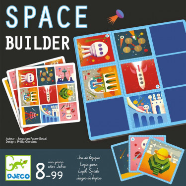 Space builder, jeu DJECO 8546