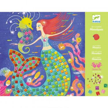 """Mosaïques """"Le chant des sirènes"""" Art au numéro DJECO 9423"""
