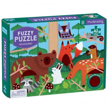 Puzzle tactile 'Dans les bois' 42 pcs Mudpuppy