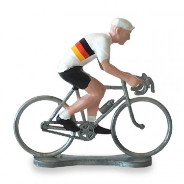 Figurine cycliste maillot Allemagne _ Bernard & Eddy