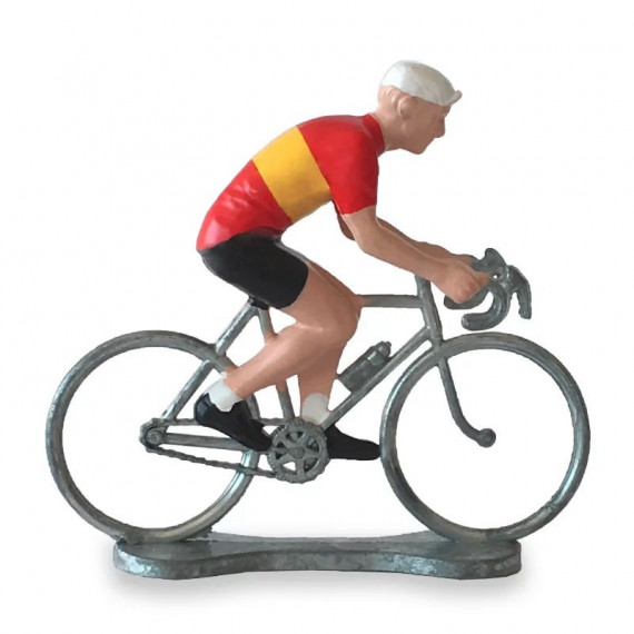 Figurine cycliste maillot Espagne _ Bernard & Eddy
