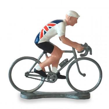 Figurine cycliste maillot Grande Bretagne _ Bernard & Eddy