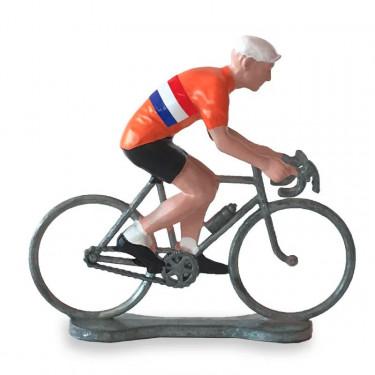 Figurine cycliste maillot Pays Bas _ Bernard & Eddy