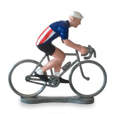 Figurine cycliste maillot USA _ Bernard & Eddy