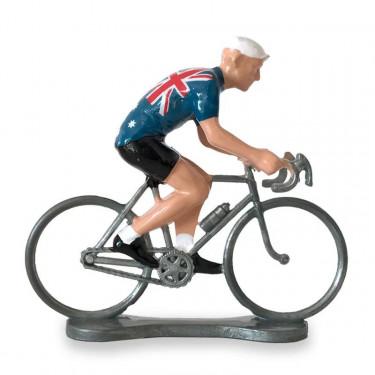 Figurine cycliste maillot Australie _ Bernard & Eddy