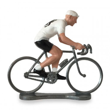Figurine cycliste maillot Corse _ Bernard & Eddy