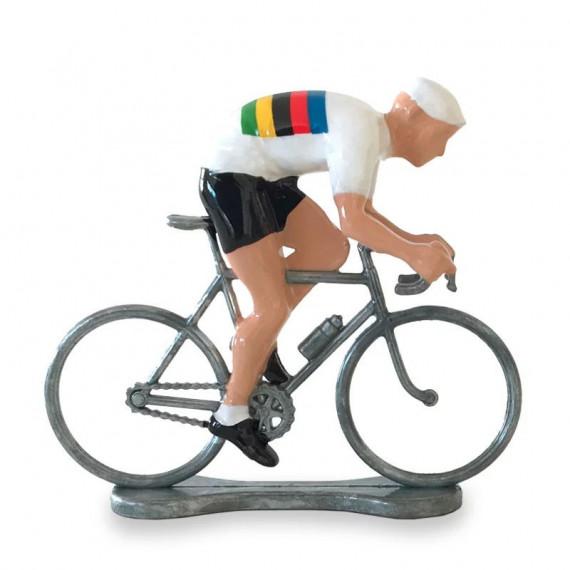 Figurine cycliste sprinteur champion du monde _ Bernard & Eddy