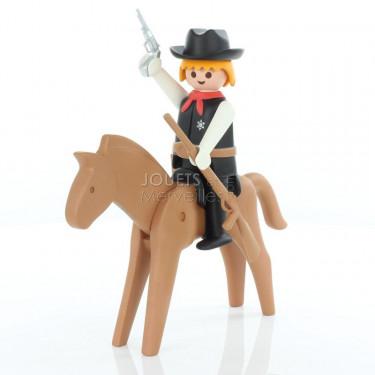 Le shérif et son cheval Playmobil Collectoys Plastoy