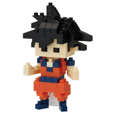 "Dragon Ball Z nanoblock ""Son Goku"""