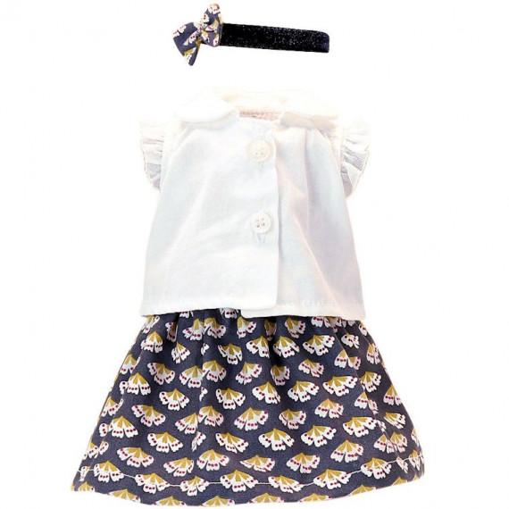 Vêtement de poupée Petitcollin 34 cm 'Suzanne'