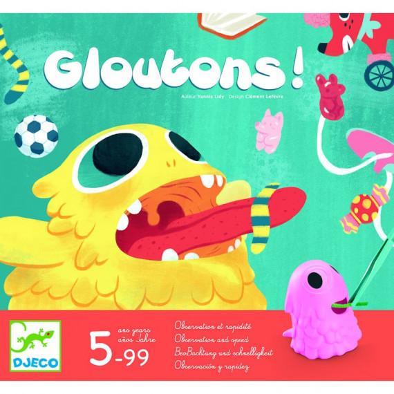 Gloutons, jeu d'observation et de rapidité DJECO 8411