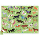 Puzzle '36 chevaux' 100 pcs CROCODILE CREEK