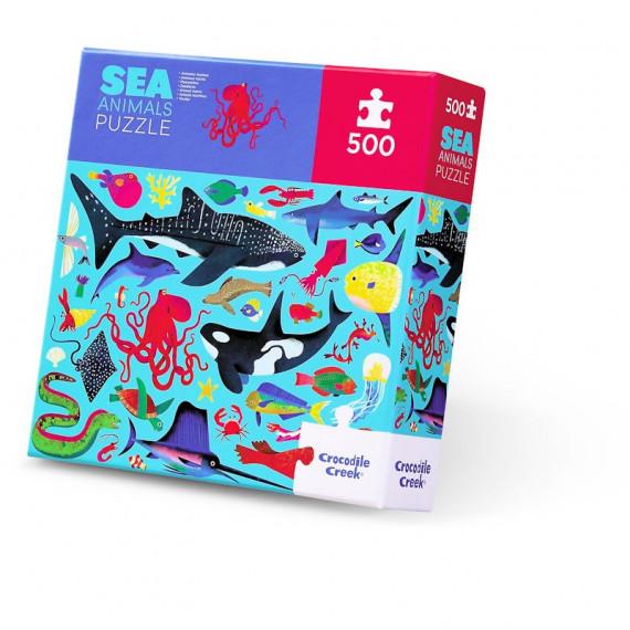 Puzzle animaux marins 500 pcs CROCODILE CREEK