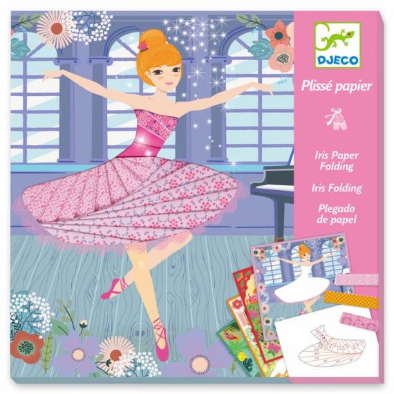 Plissé papier 'Danseuses' DJECO 9444