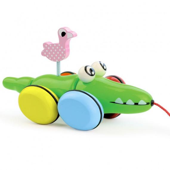 Croc & Odile, jouet à traîner Vilac 1705