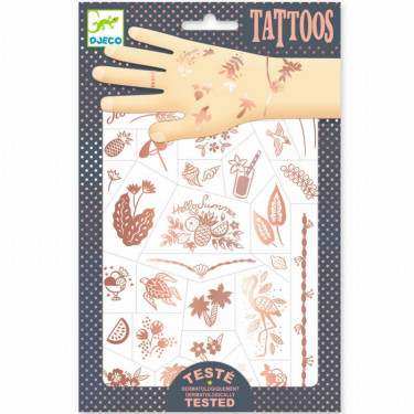 Tatouages 'Hello Summer' DJECO 9597